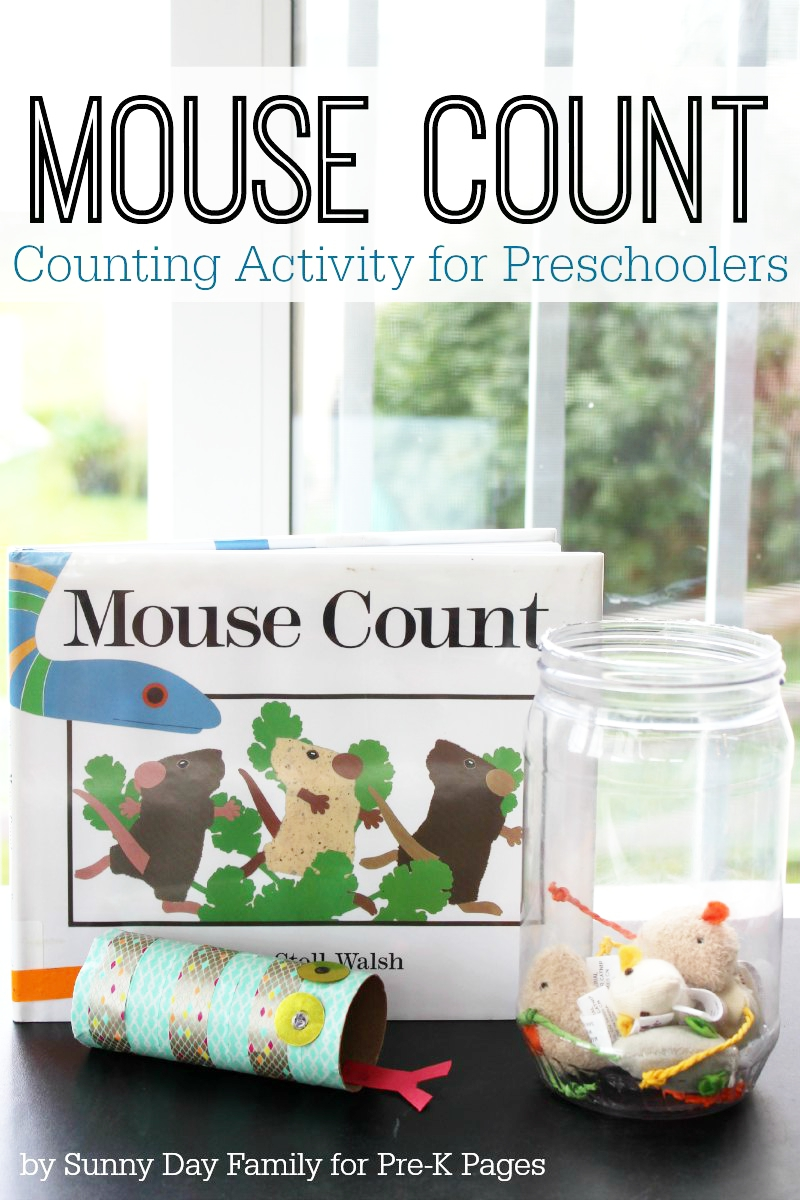 Mouse Counting Activity for preschool