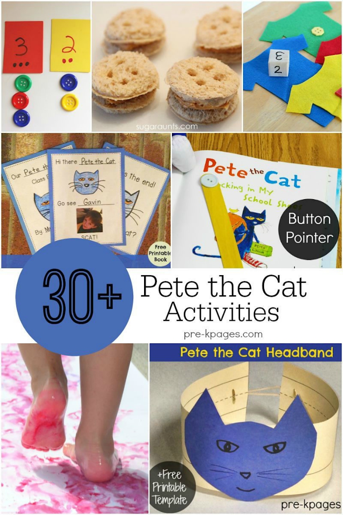 30+ Pete the Cat Activities