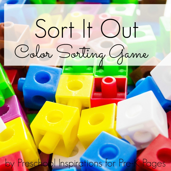Sort It Out color sorting game