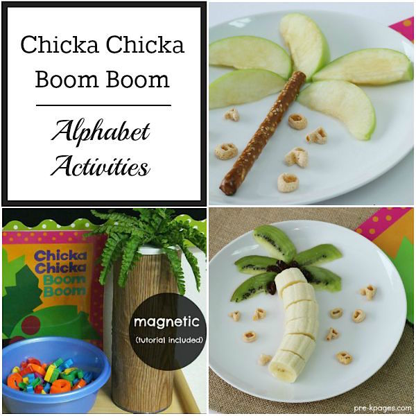 Chicka Chicka Boom Boom Activities for Preschoolers