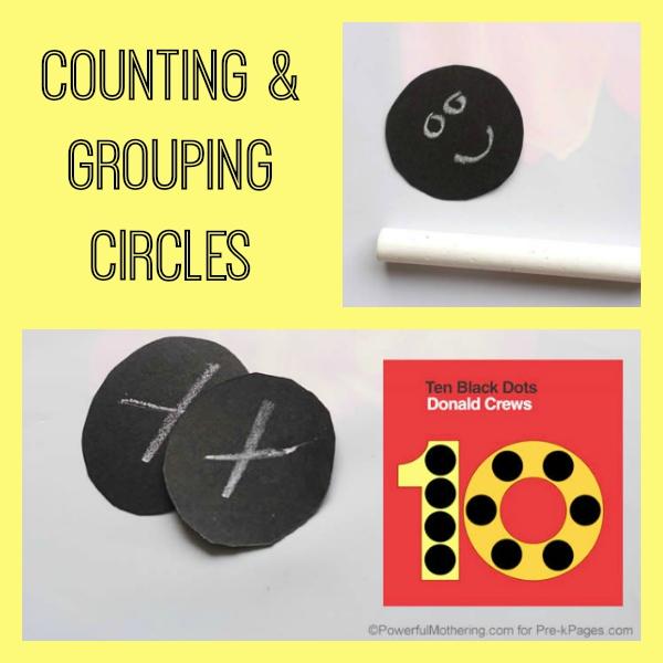 counting ten black dots