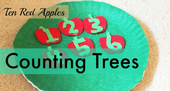 Ten Red Apples: Counting Trees