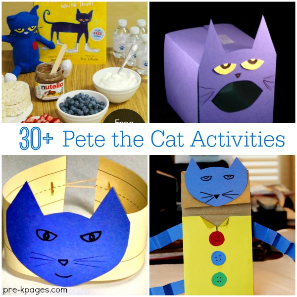 Pete the Cat Activities for Preschool and Kindergarten