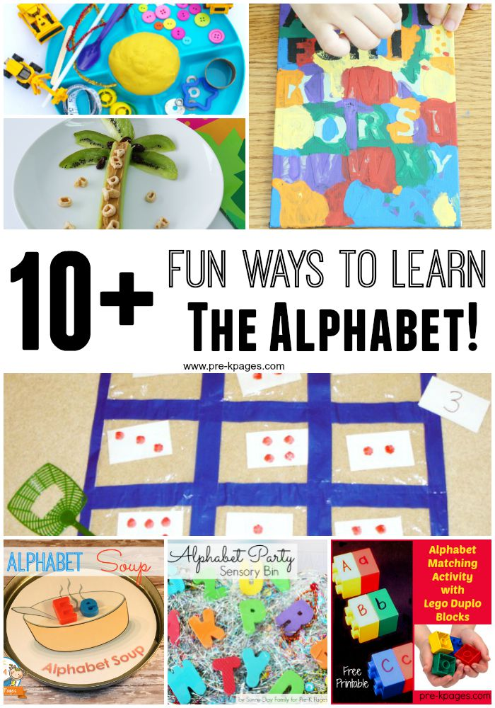 10  Fun Ways to Learn the Alphabet