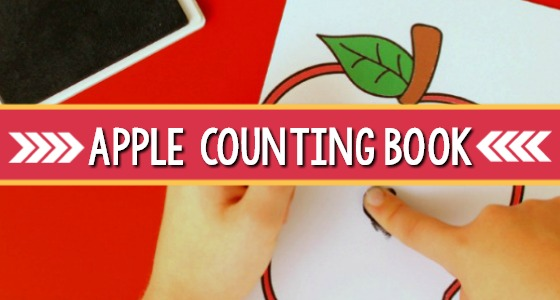 Apple Counting Book Printable