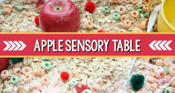 Easy Apple Sensory Table For Fall