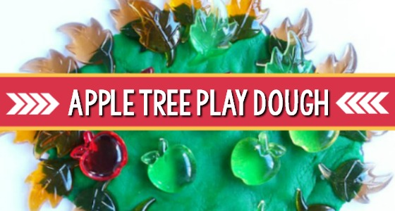 Apple Tree Playdough