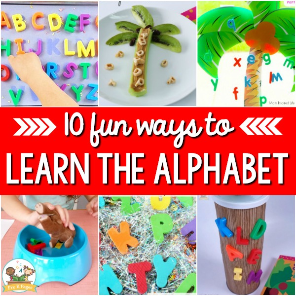 Fun Ways to Teach the Letters of the Alphabet