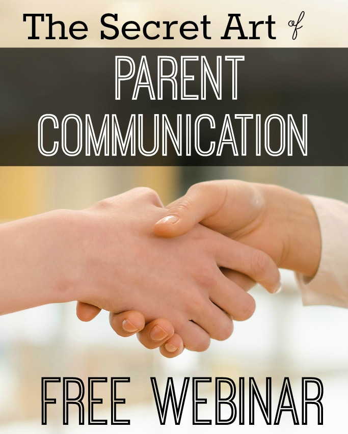 Parent Communication Free Webinar for Teachers