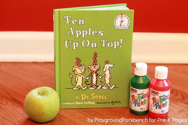 Ten Apples Up On Top Apple Prints