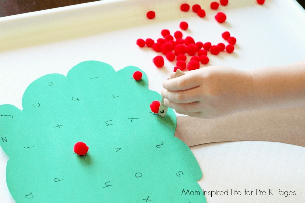 apple tree alphabet activity