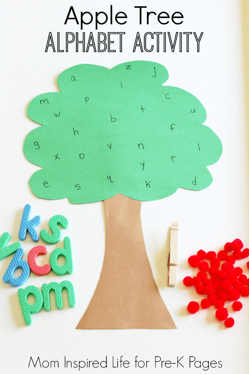 apple tree alphabet game