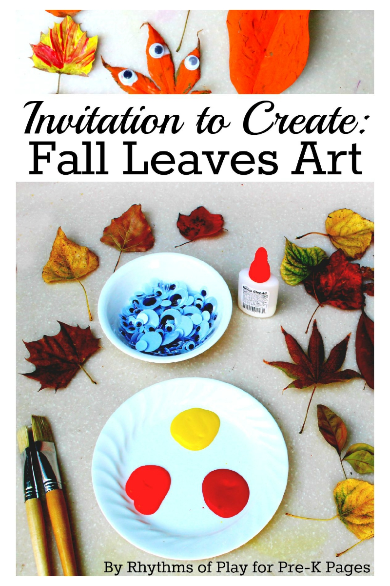 Fall leaves art exploration