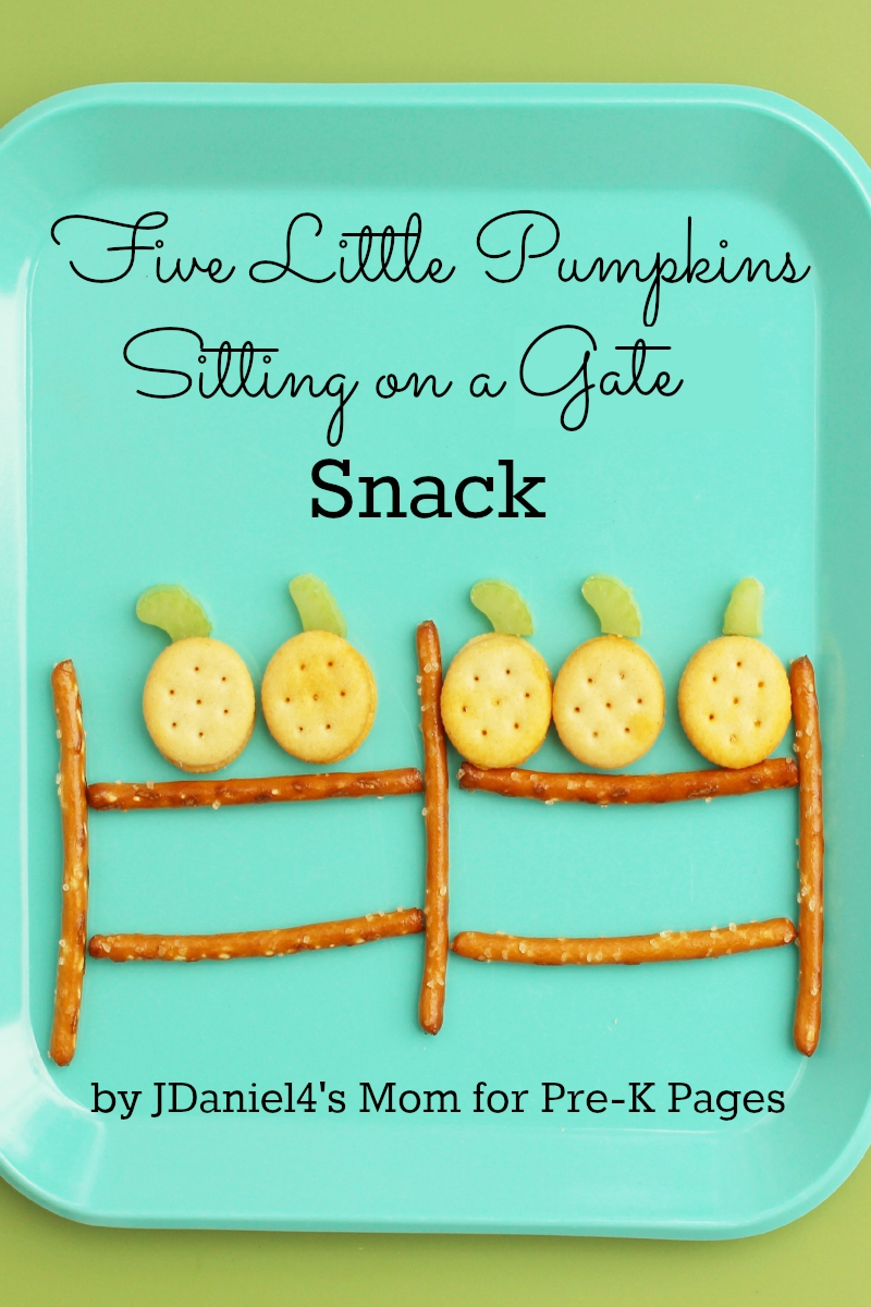 Five Little Pumpkins Snack Activity