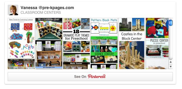 Classroom Centers Pinterest Board