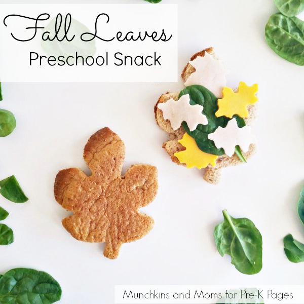 fall leaves snack activity