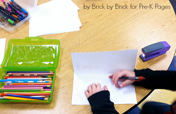 homemade books for preschool