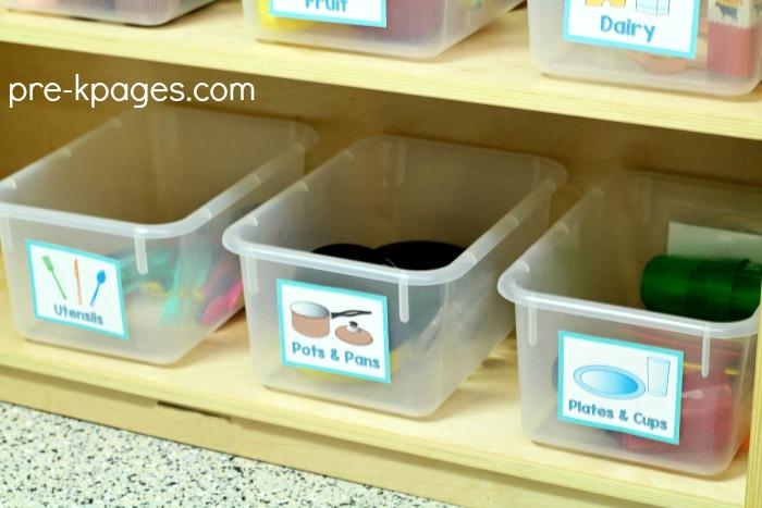 Organize Your Pretend Play Kitchen