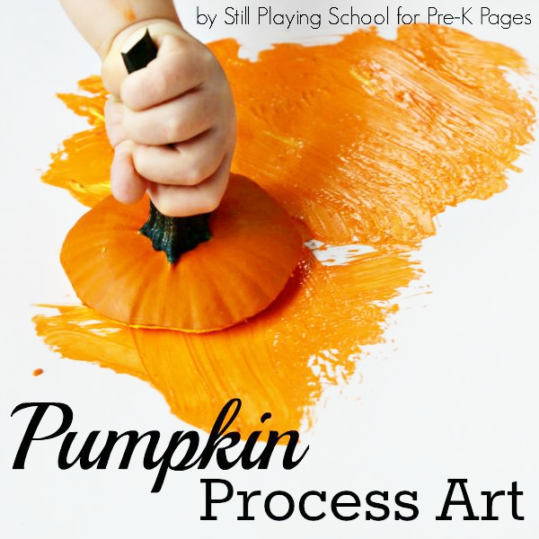 pumpkin painting process art