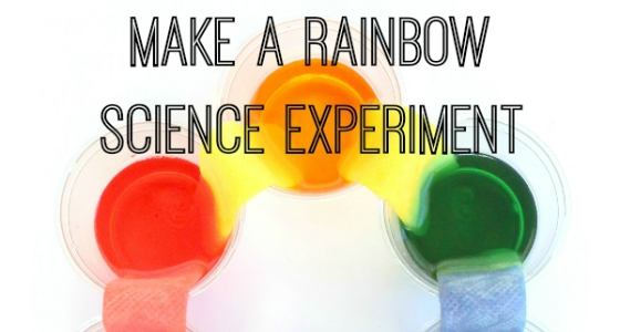 Rainbow Science Experiment