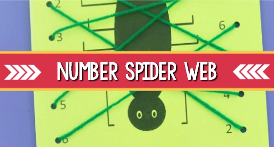 Number Spider Web Activity