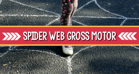 Spider Web Gross Motor