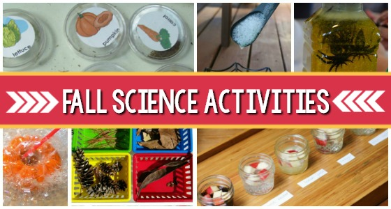 Fall Science Activities for Preschoolers
