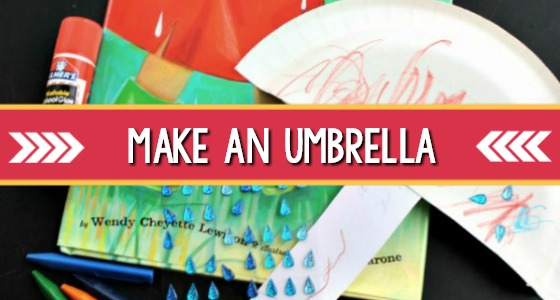 Umbrella Craft For Preschool