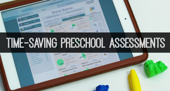 Time-Saving Preschool Assessment Tool