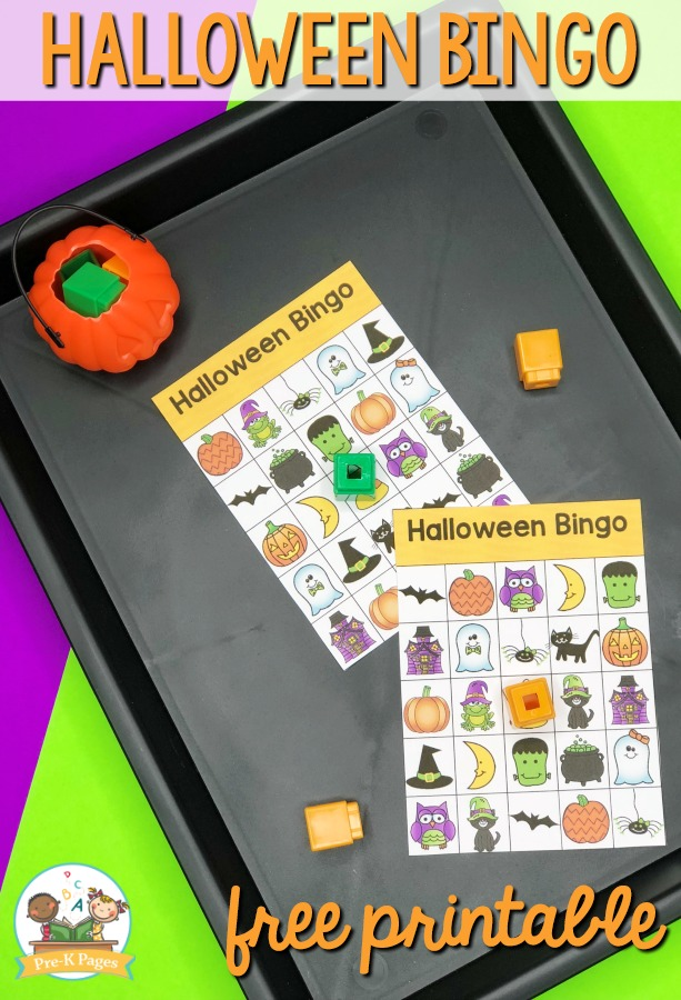 photograph about Printable Halloween Bingo identified as Printable Halloween Bingo Video game