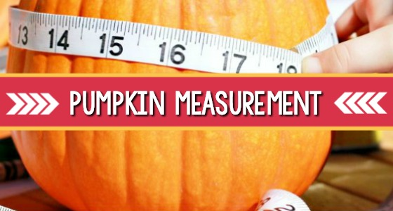 Pumpkin Math Measuring Activity