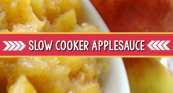 Slow Cooker Applesauce For Kids Recipe