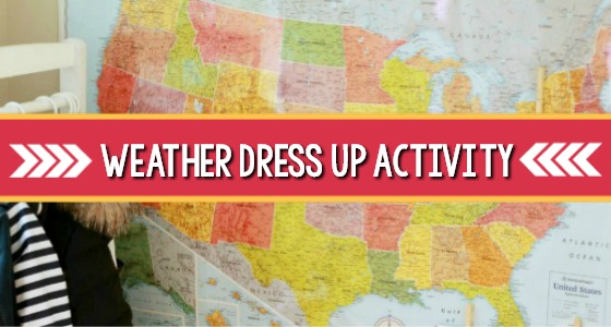Weather Dramatic Play Activity