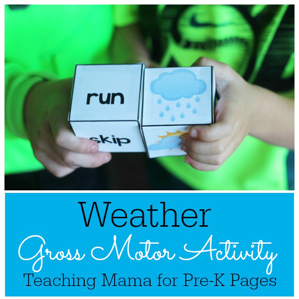 Weather Gross Motor Game