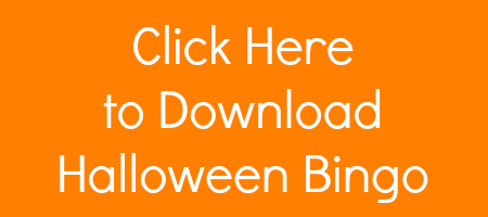 image relating to Printable Halloween Bingo Cards named Printable Halloween Bingo Match