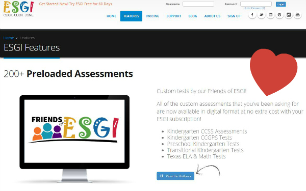 Digital Assessment Tool for Teachers of Preschool and Kindergarten
