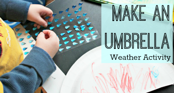 Raindrop Plop: Make an Umbrella