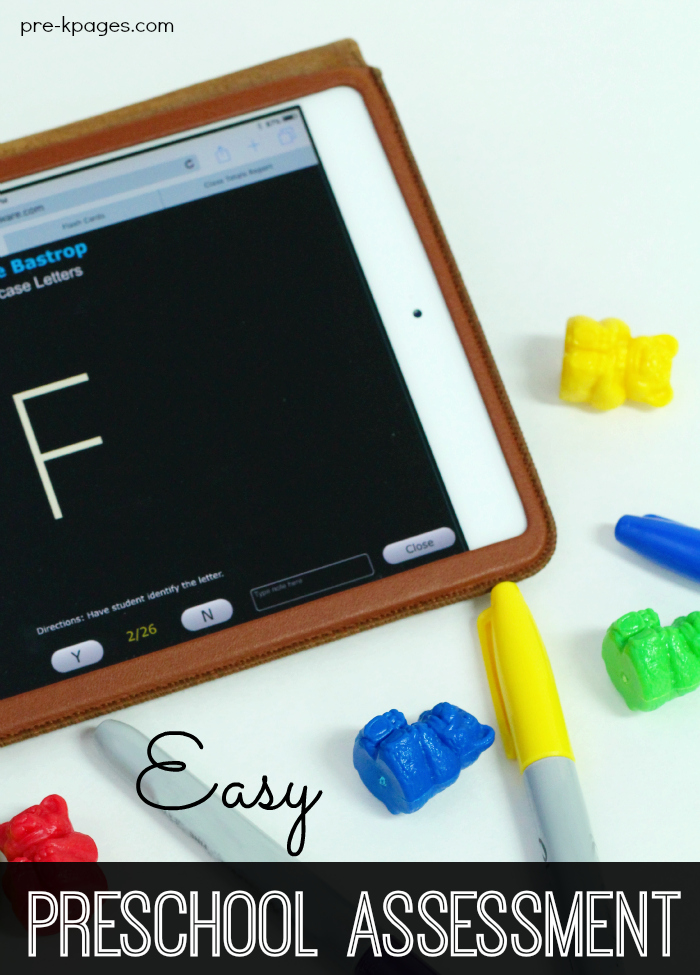 Digital Preschool Assessment Tool for Teachers