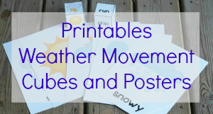 weather movement game printables