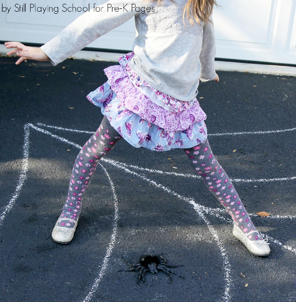spider web movement activities