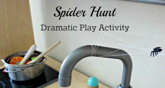 Spider Hunt Dramatic Play Activity