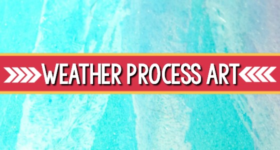 Weather Process Art Activities For Preschool