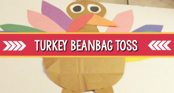 Turkey Gross Motor Beanbag Toss