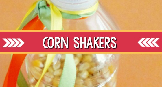 Corn Shakers Thanksgiving Music Activity