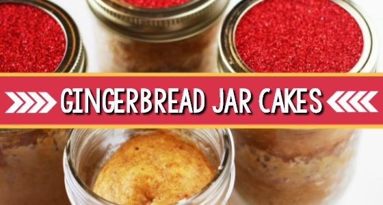 Gingerbread Jar Cakes