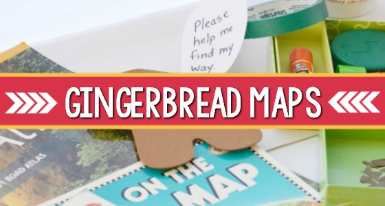 Gingerbread Man Maps Writing Center