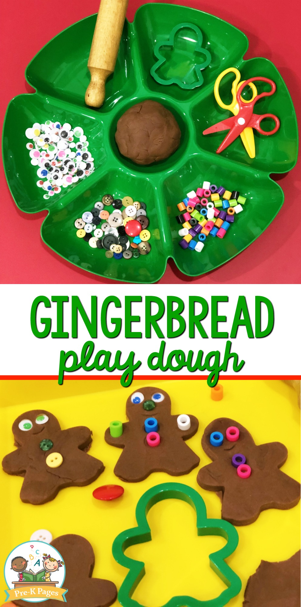 Gingerbread Playdough Recipe Printable