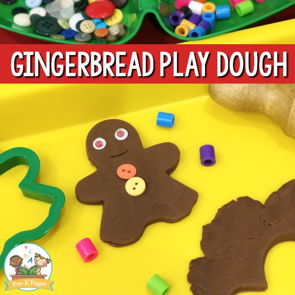How to Make Gingerbread Playdough