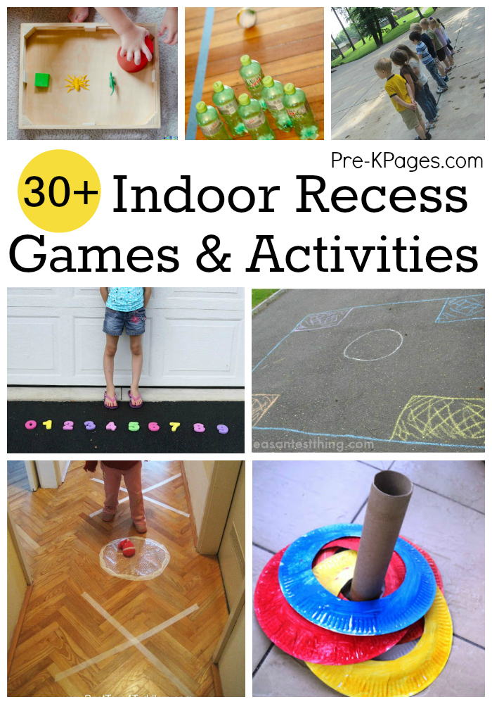 Indoor Recess Ideas for Preschool