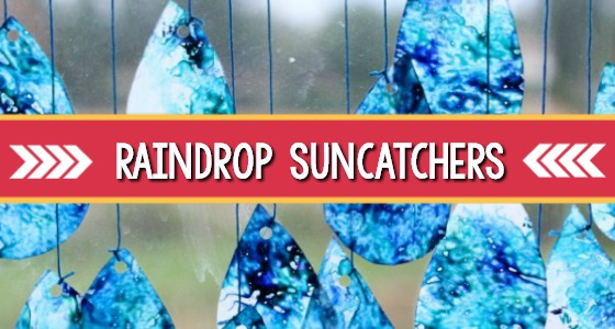 How To Make Raindrop Suncatchers